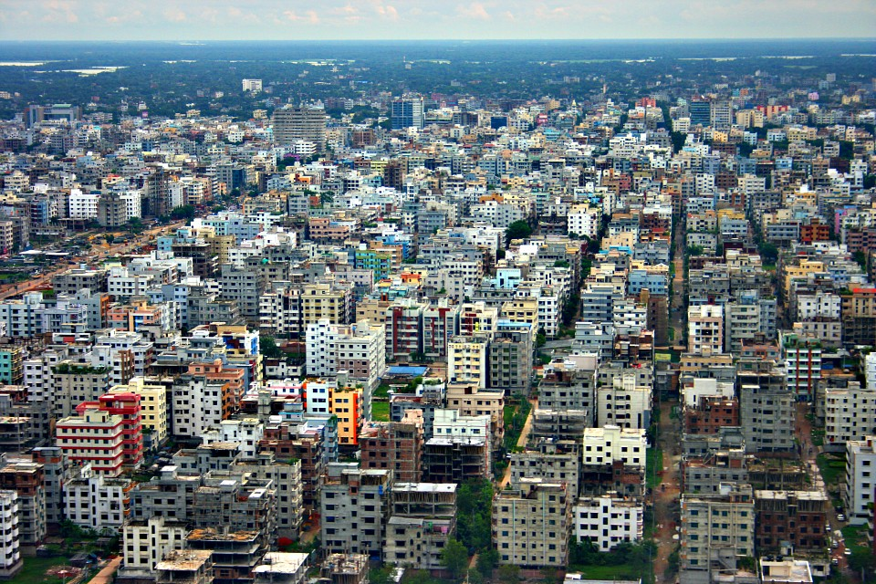 city scapes - Dhaka