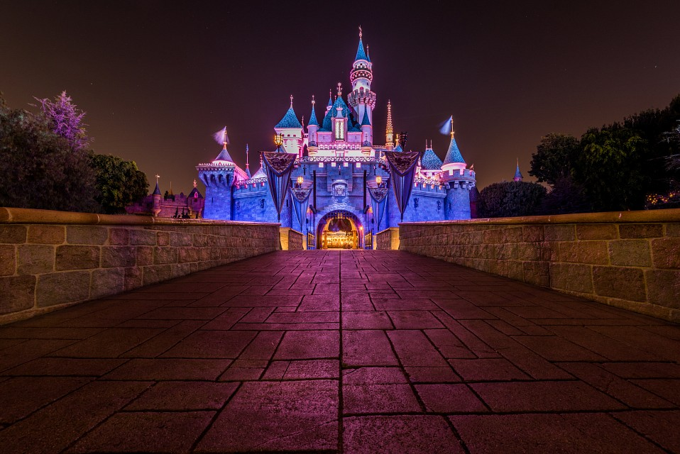 Bridge To Sleeping Beauty Castle - Disneyland