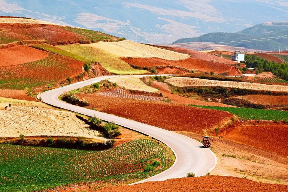The Red Land  紅土地之行 - Dongchuan