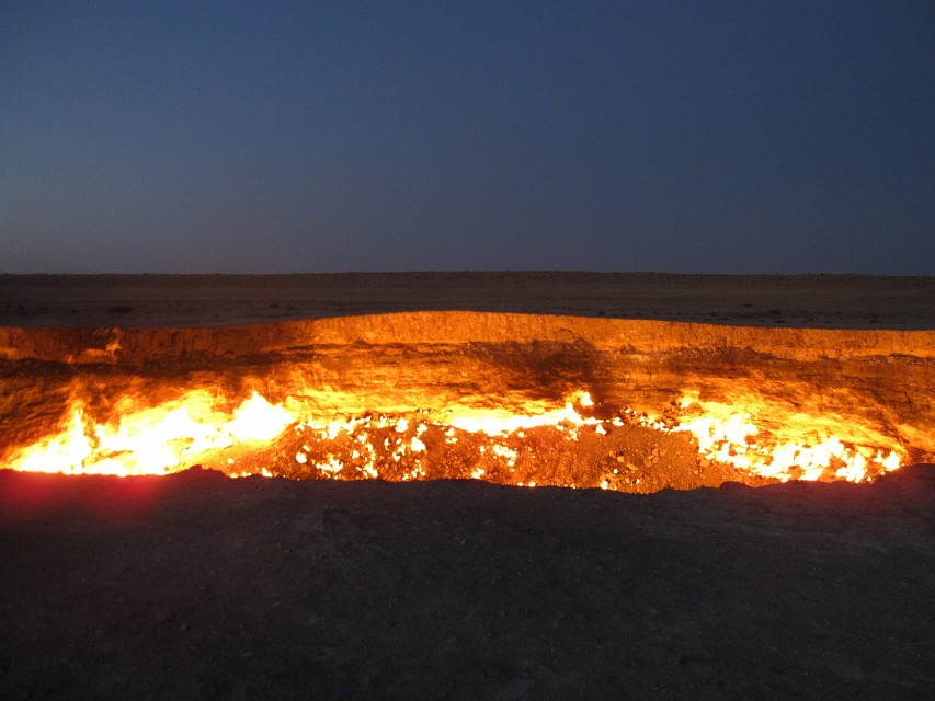 Central Asia 100 - Door to Hell