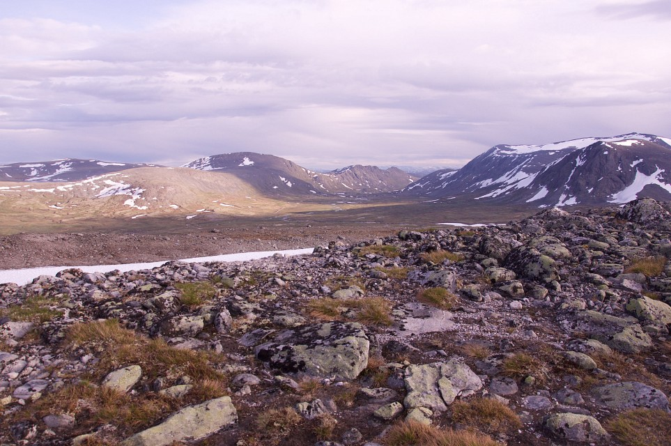 View from the trail - Dovrefjell–Sunndalsfjella National Park