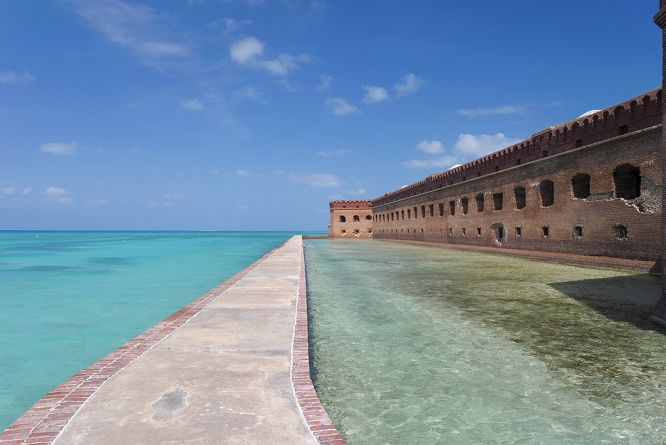 Dry Tortugas Blue Water - Dry Tortugas National Park