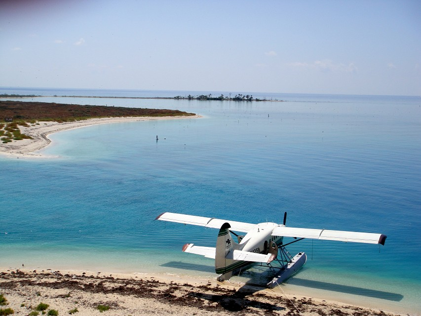 Sea Plane at the Dry Tortugas National Park - Dry Tortugas National Park