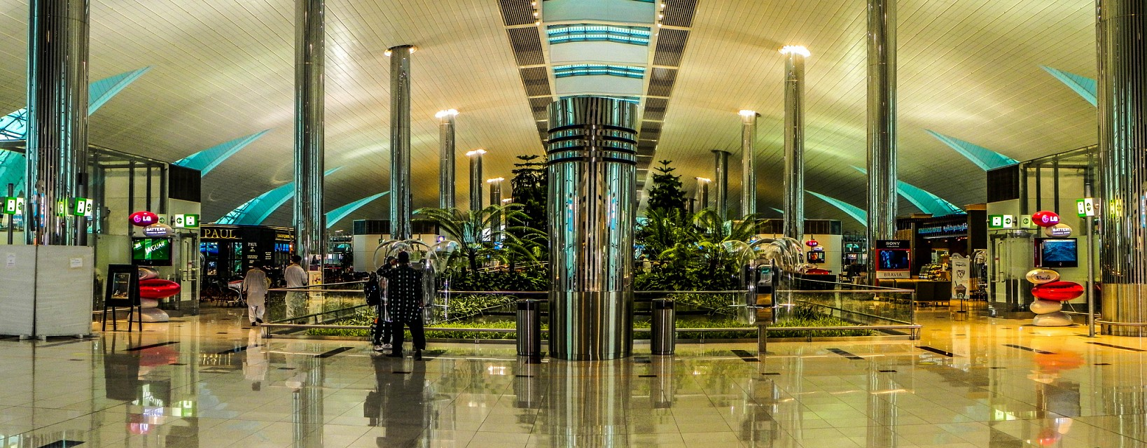 Dubai Airport - مطار دبي -
