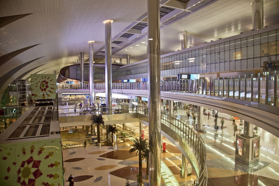 Terminal 3 (from the Business Class Lounge level) - Dubai International Airport