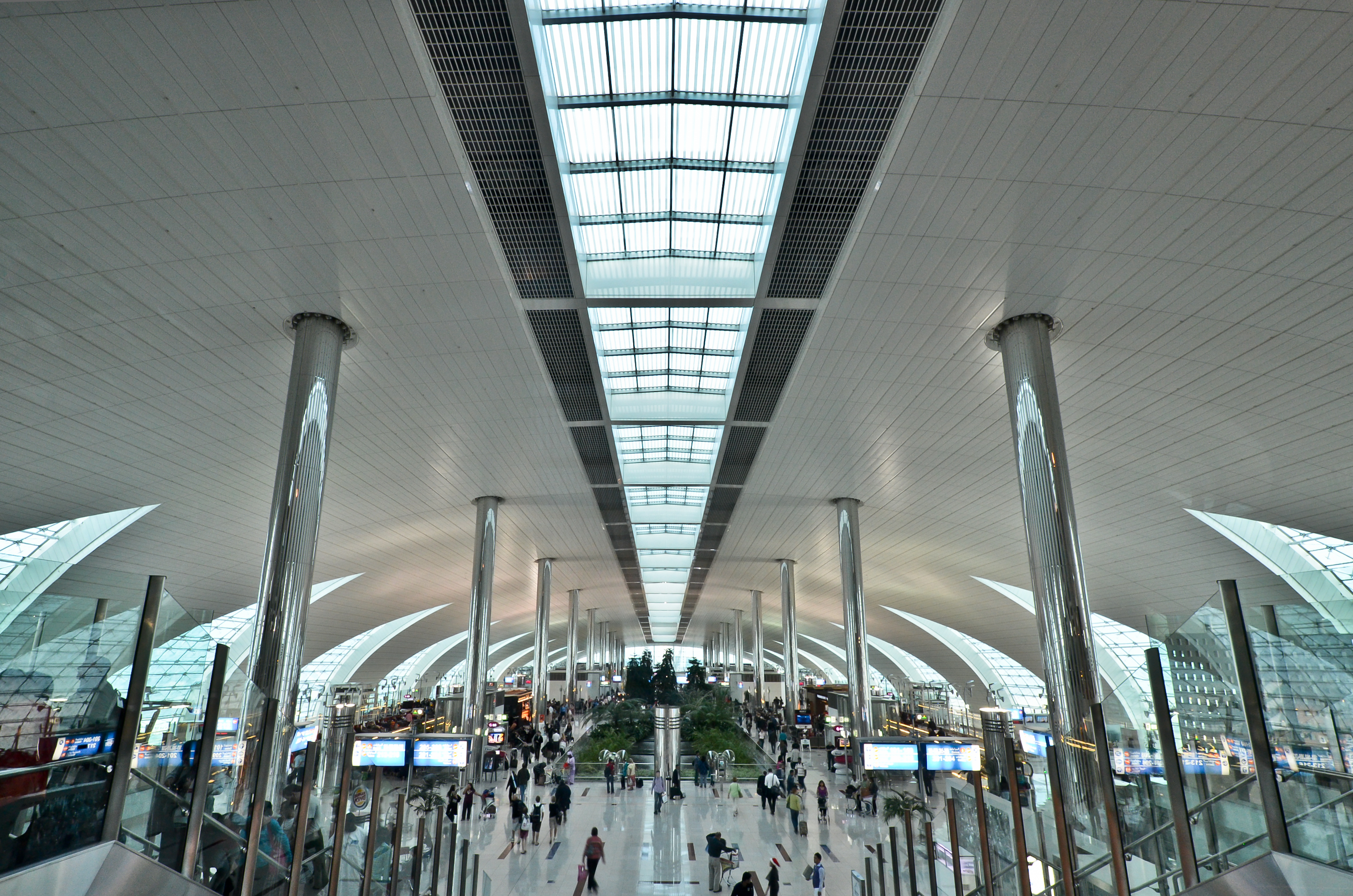 Dubai International Airport Airport In Dubai Thousand
