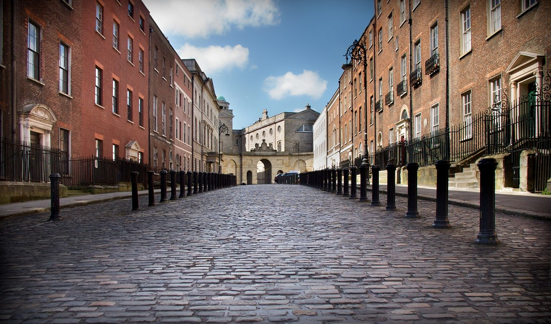 Henrietta St. and King's Inns - Dublin