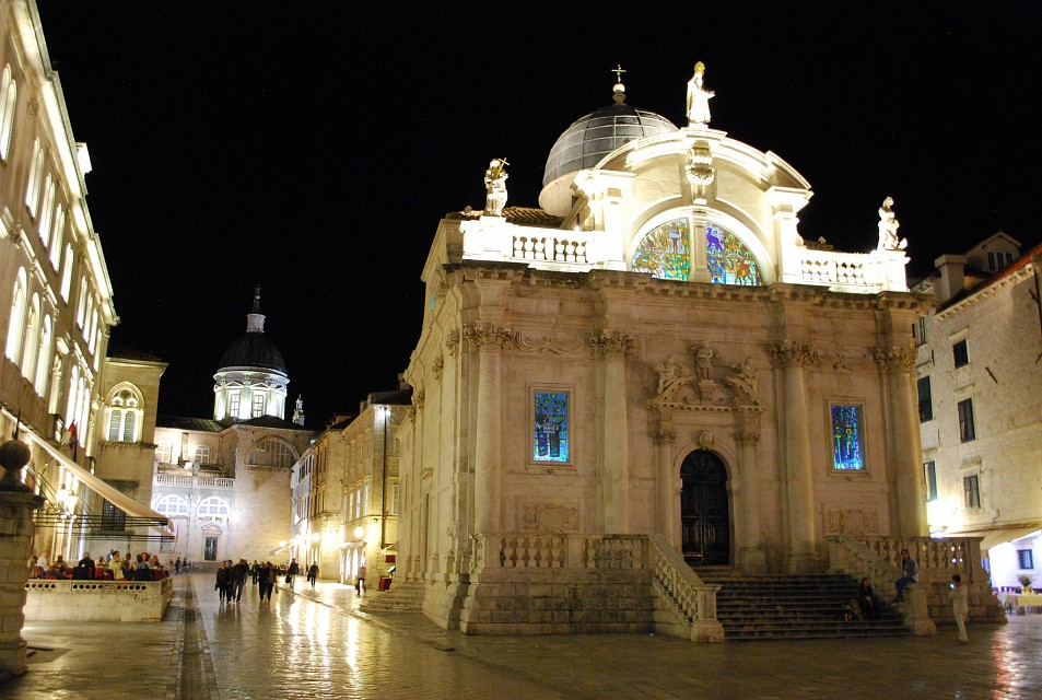 Church of St. Blaise, dedicated to the city's patron saint. Dubrovnik, Croatia - Dubrovnik