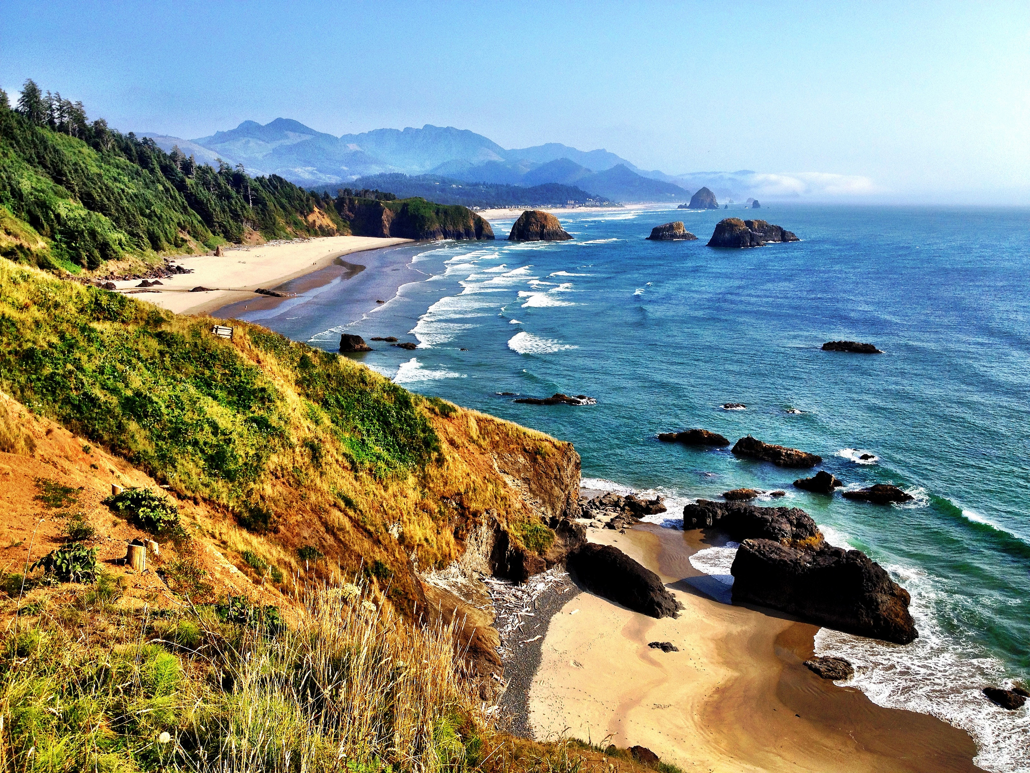 Japanese Garden Pictures Ecola State Park Beach In Oregon Thousand Wonders