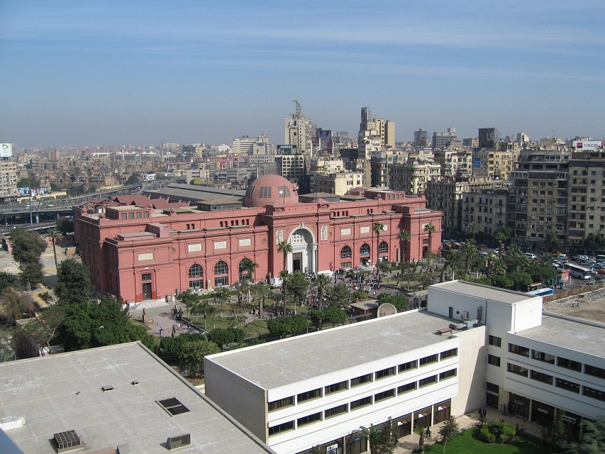 The Egyptian Museum in Cairo, Egypt - Egyptian Museum