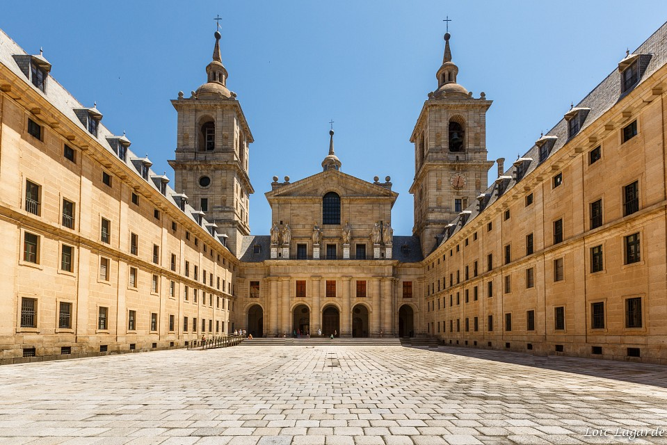 El Escorial - in Madrid - Thousand Wonders