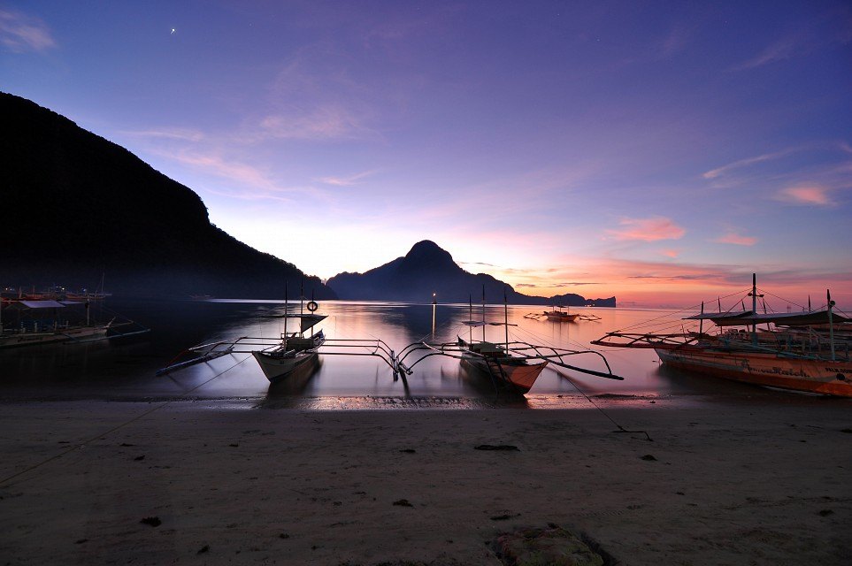 Later Than The Sunset - El Nido