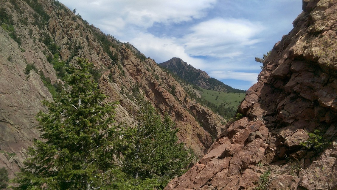 Eldorado Canyon State Park. Streamside Trail and Fowler Trail. - Eldorado Canyon State Park