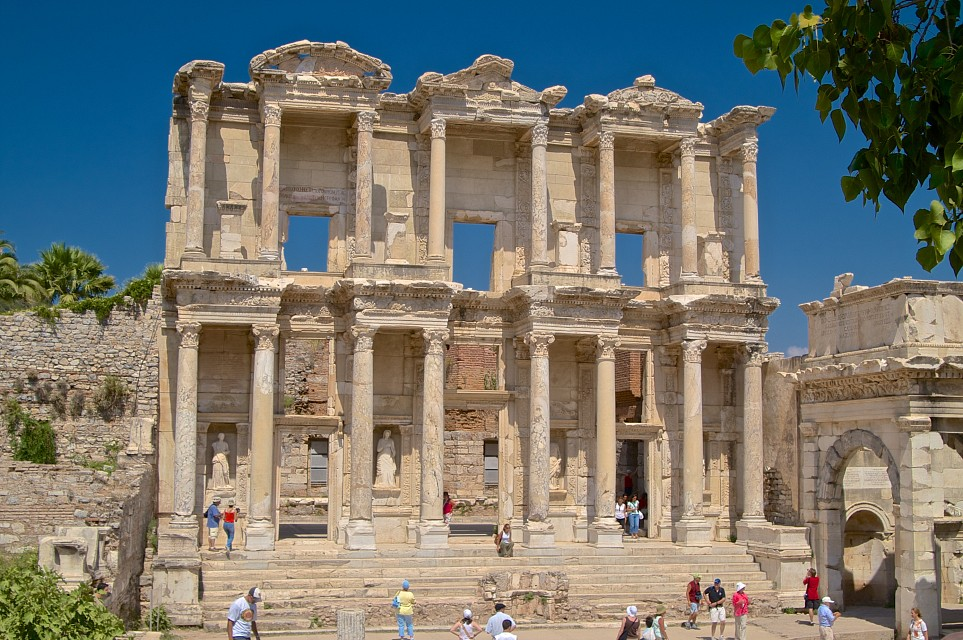 The library of Ephesus - Ephesus