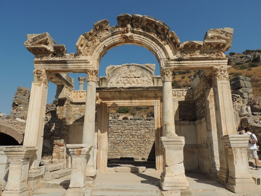 Temple of Hadrian - Ephesus