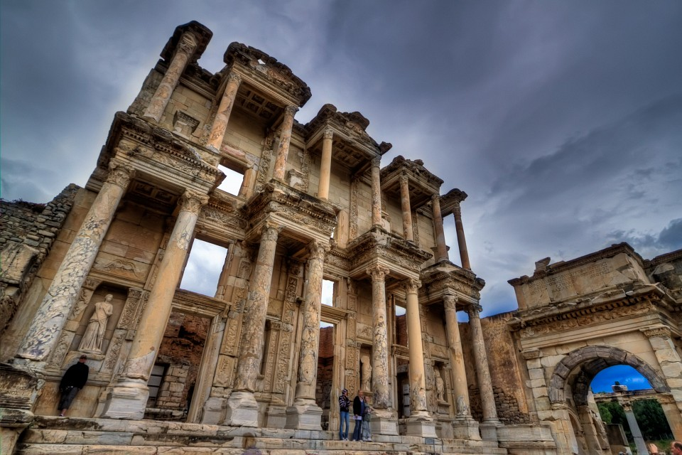 Celsus Library at Ephesus - Selcuk, Turkey - Ephesus