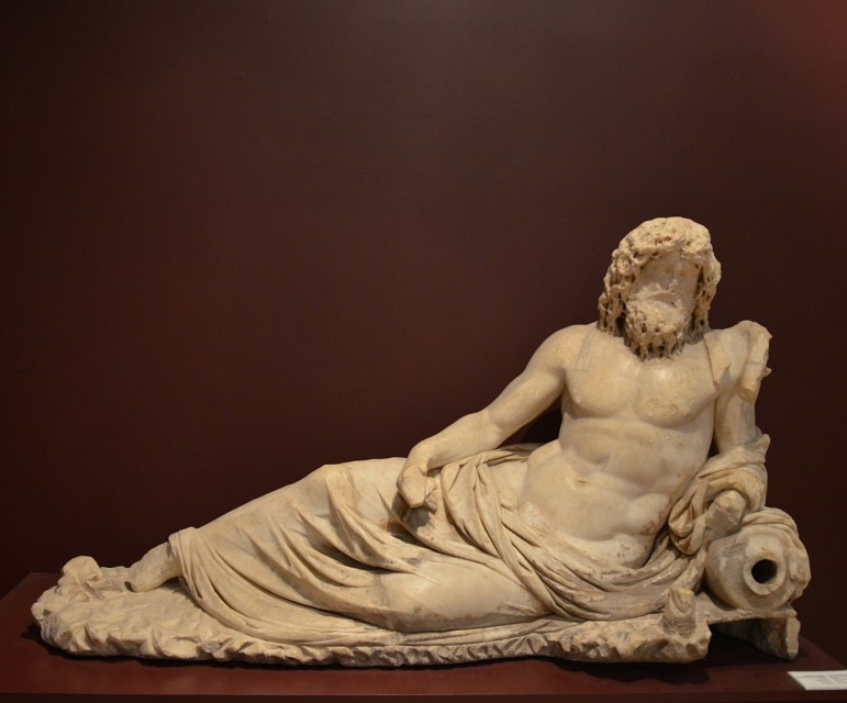 Statue of Oceanus from Ephesus, 2nd cent. - Ephesus Archaeological Museum