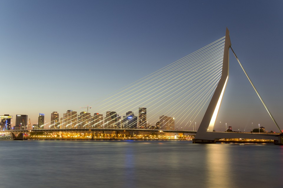 Erasmus Bridge...again! - Erasmusbrug