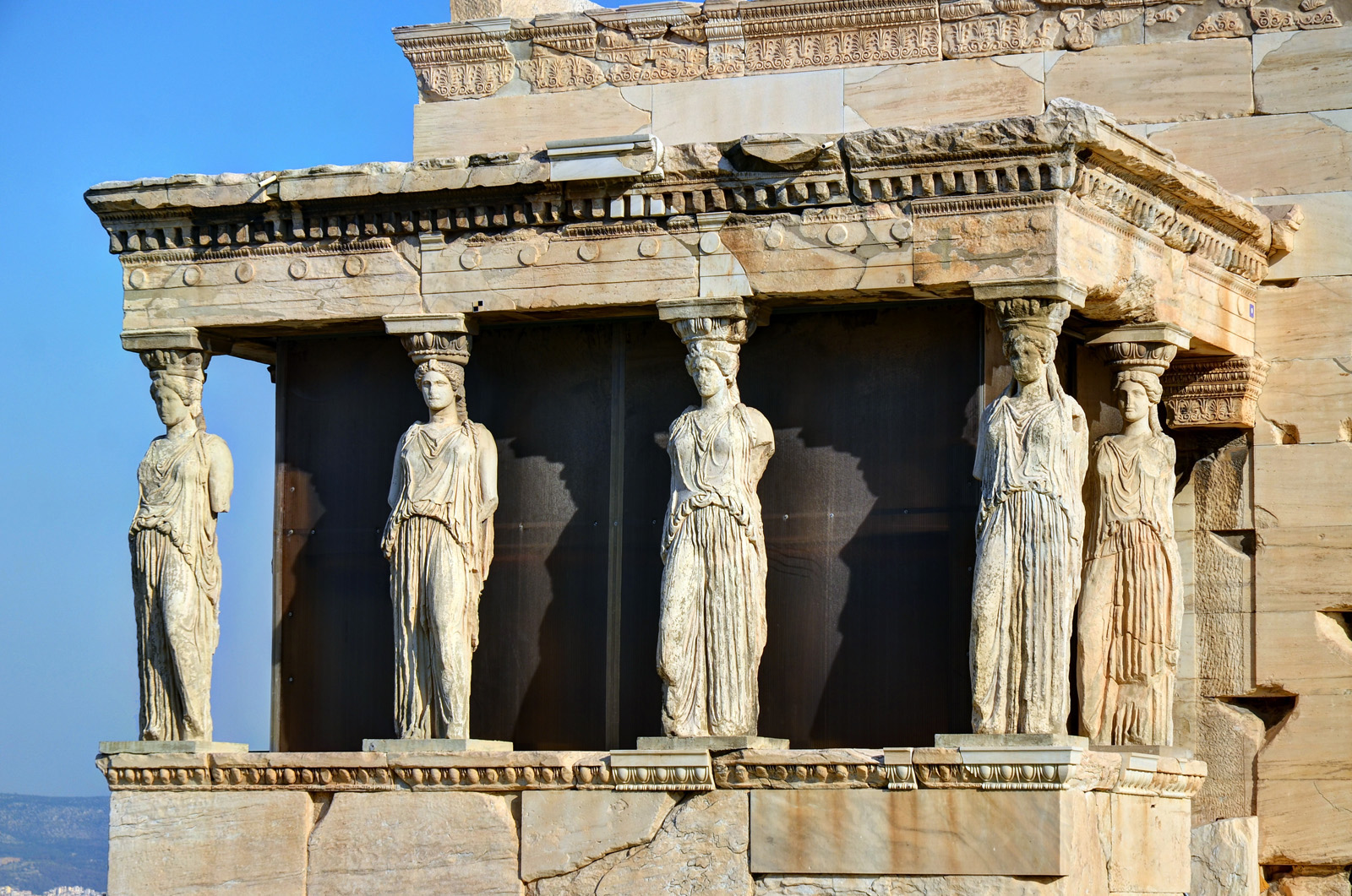 Erechtheion - Temple in Acropolis - Thousand Wonders