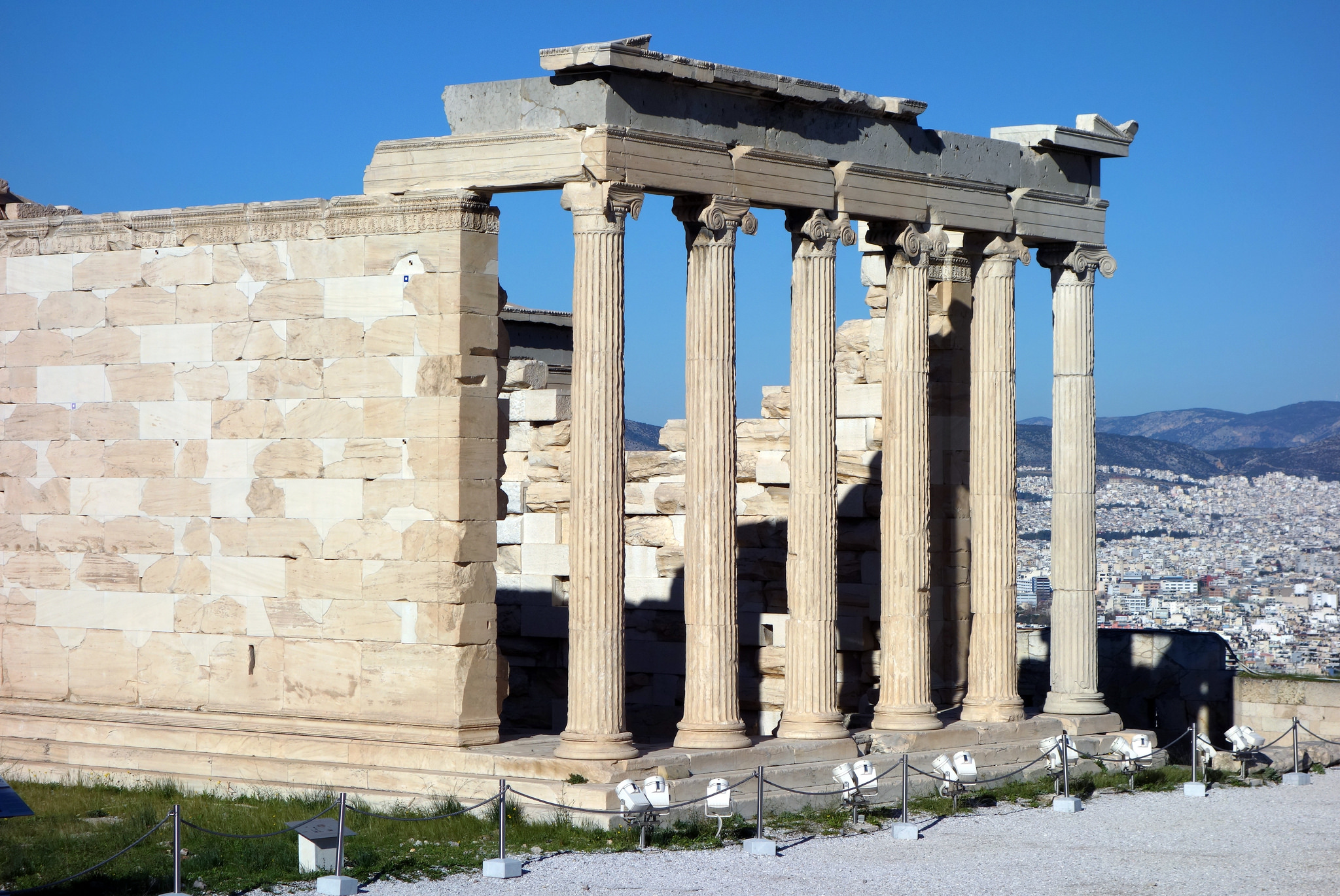 Erechtheion Temple In Acropolis Thousand Wonders
