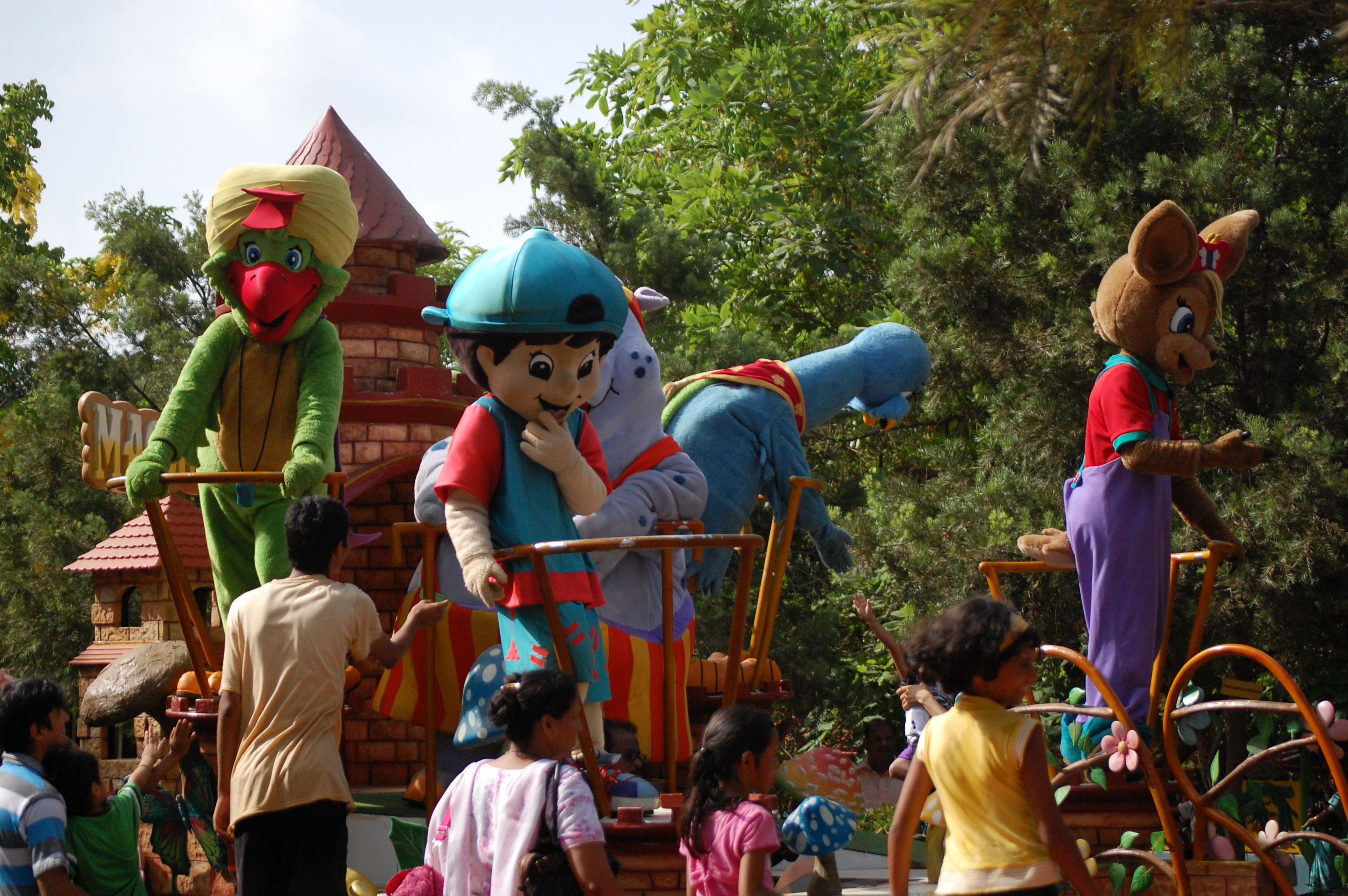 Esselworld theme park in mumbai thousand wonders esselworld gumiabroncs Choice Image