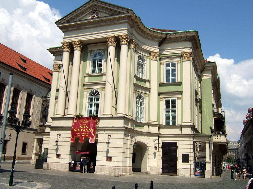 Prague, Estates Theatre - Estates Theatre