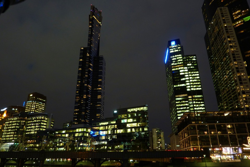 Eureka tower at night - Eureka