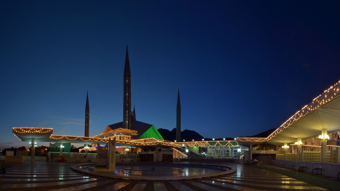 Interior - Faisal Mosque