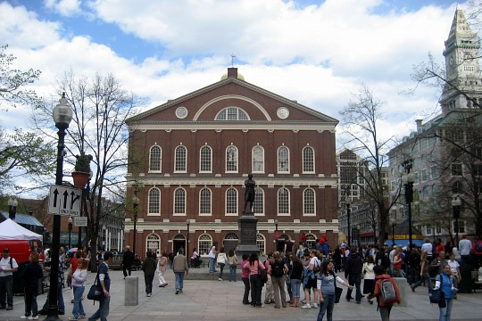 Boston - Freedom Trail: Faneuil Hall Marketplace - Faneuil Hall