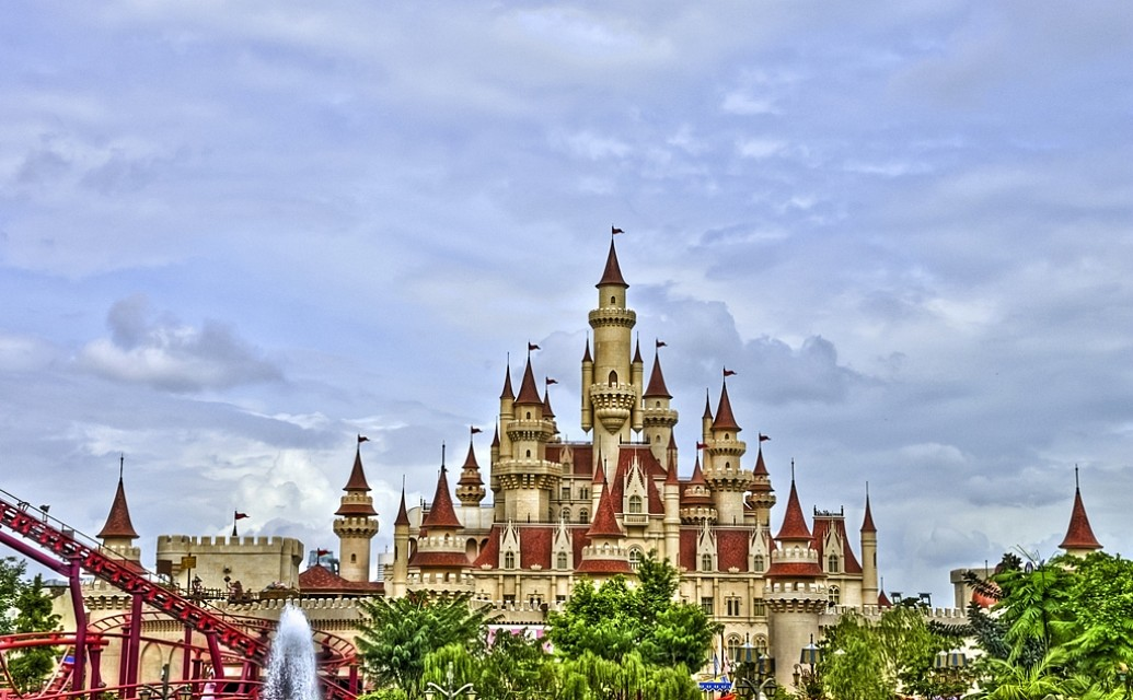 Far Far Away Castle - Universal Studios