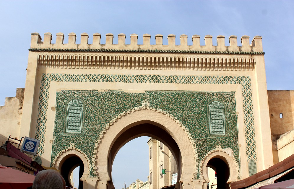 Bab Bou Jeloud (The Blue Gate), Fez, Morocco - Fez
