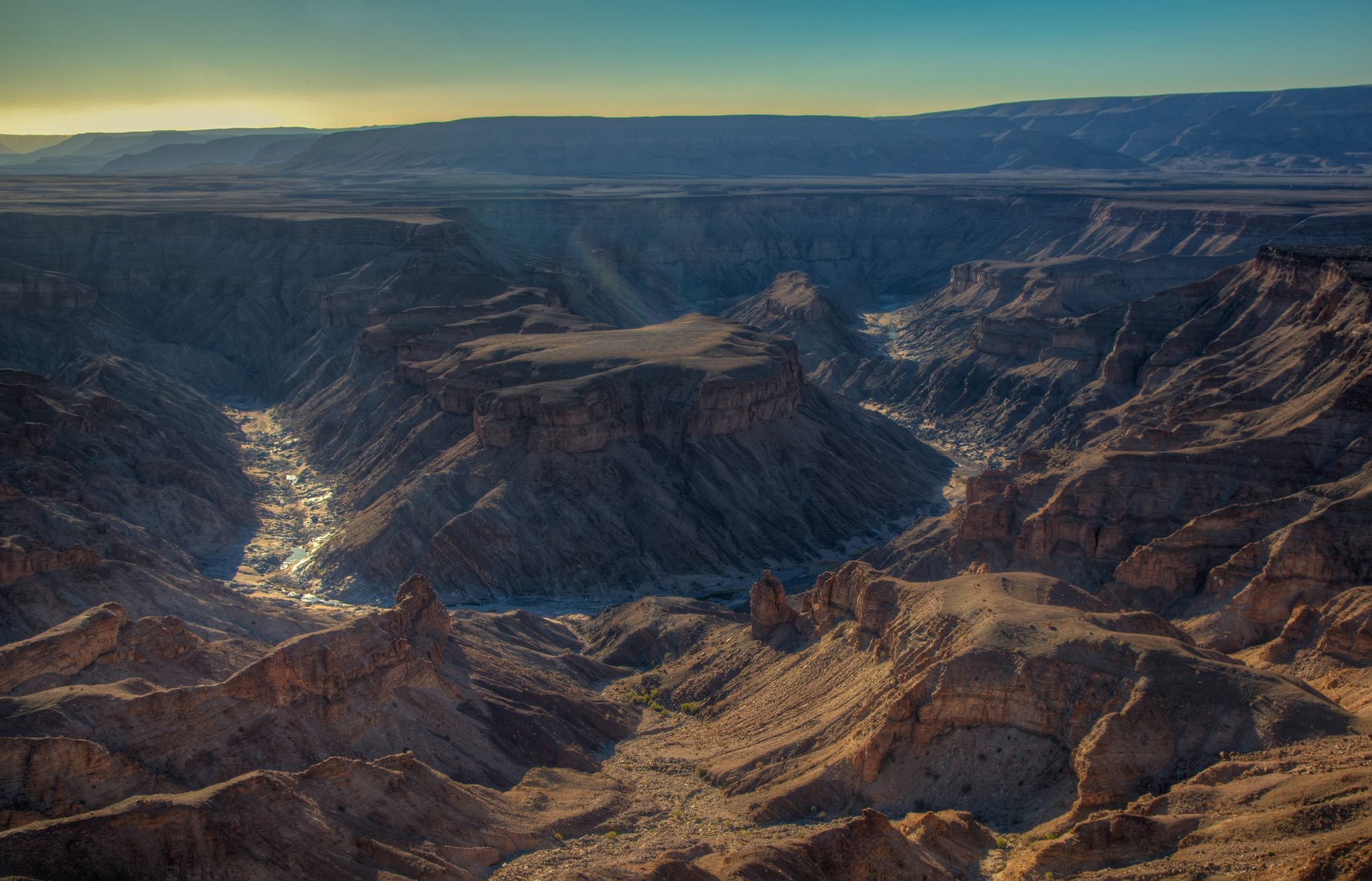 Fish River Canyon Canyon In Namibia Thousand Wonders
