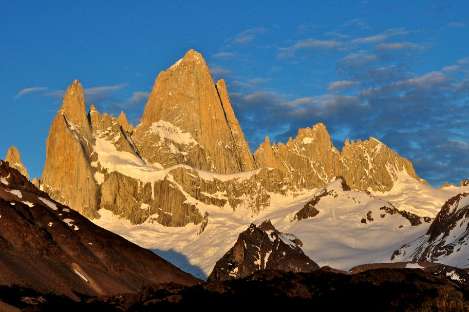 Mount Fitz Roy Sunrise - Fitz Roy