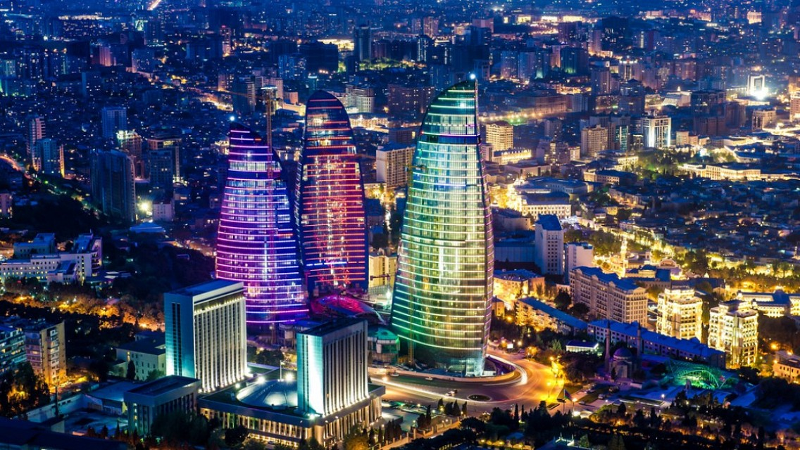 Baku Flame Towers - Flame Towers