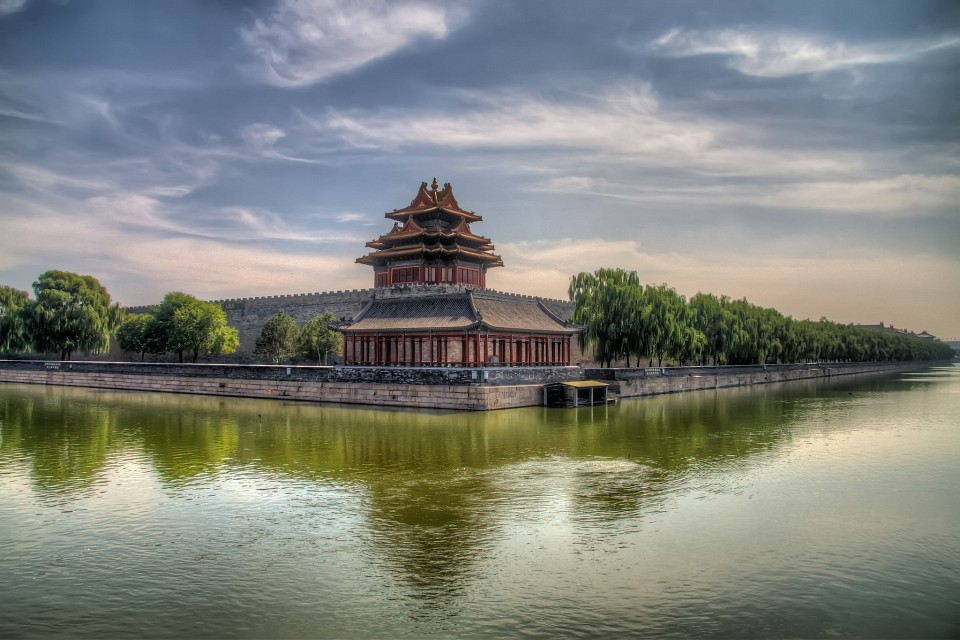 The Corner Tower of the Forbidden City - Forbidden City