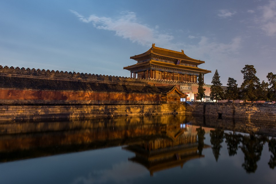 By the Palace Gates - Forbidden City