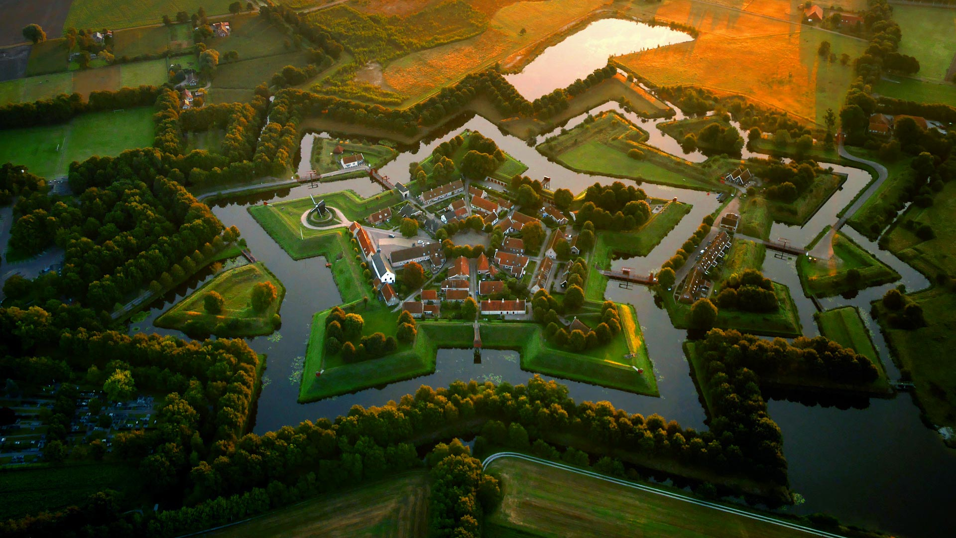 Fort Bourtange Fortress In Netherlands Thousand Wonders