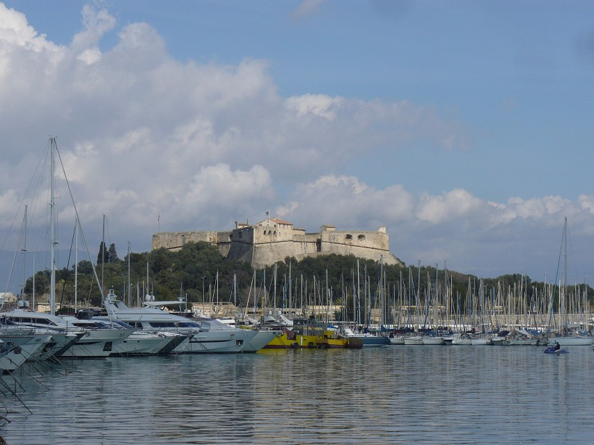 Day trip to Antibes - Fort Carré