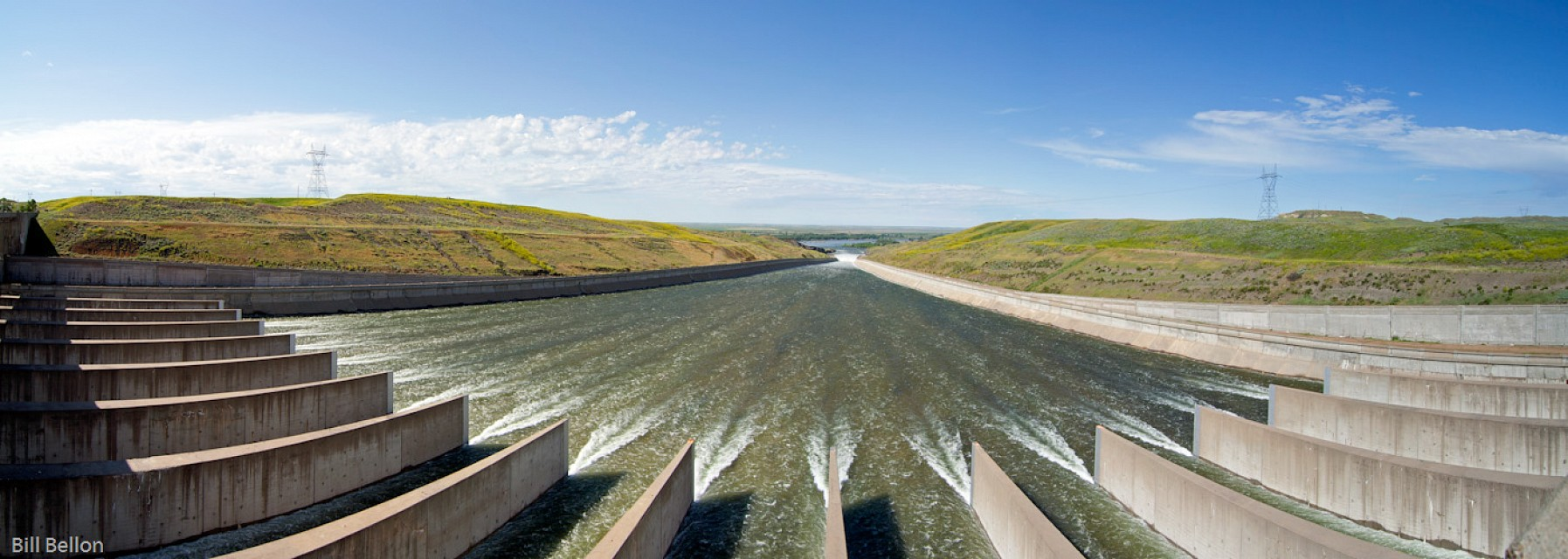 Fort Peck Lake Spillway 1 - Fort Peck Lake