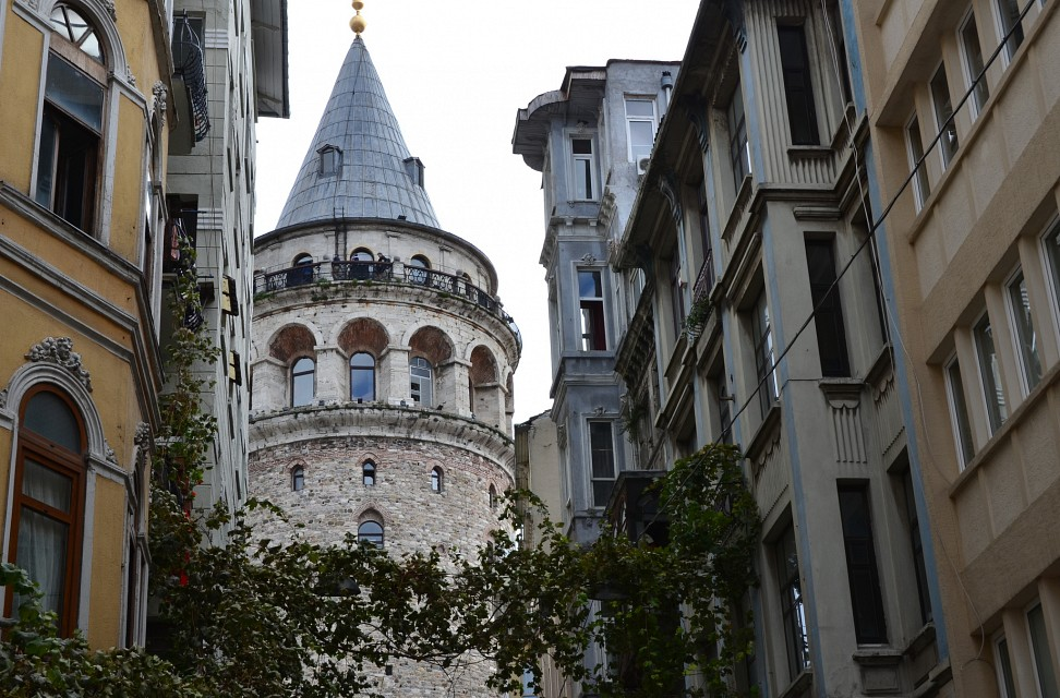 Galata Tower, built by the Genoese in 1348 (4) - Galata Tower