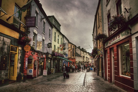High St in Galway -