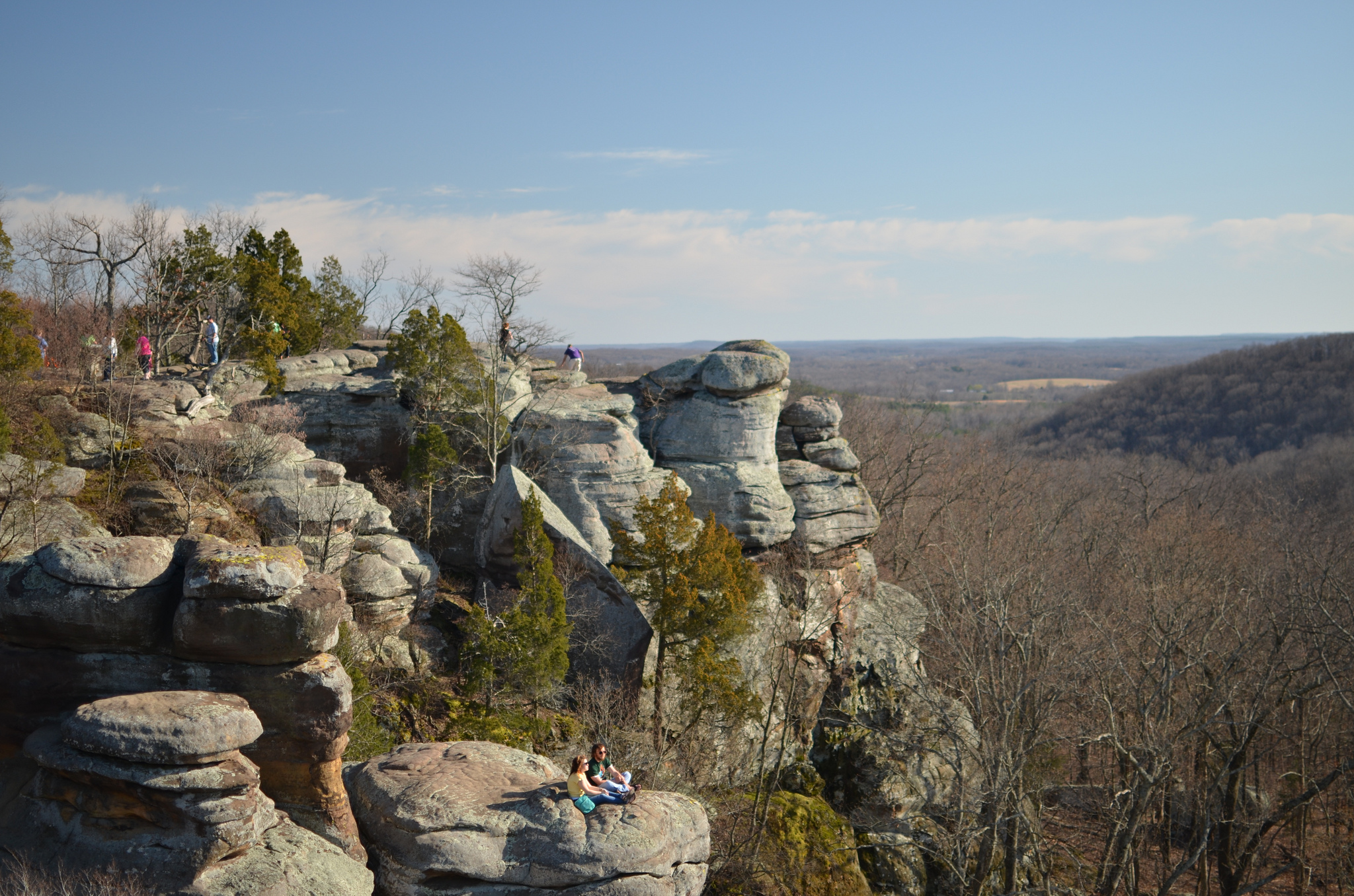 Garden Of The Gods Wilderness Protected Area In Illinois Thousand Wonders
