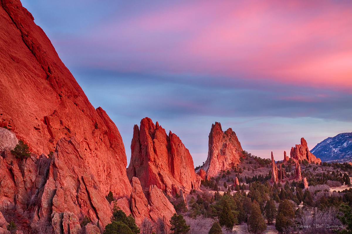 Garden of the gods geological feature in colorado - Garden of the gods colorado springs co ...