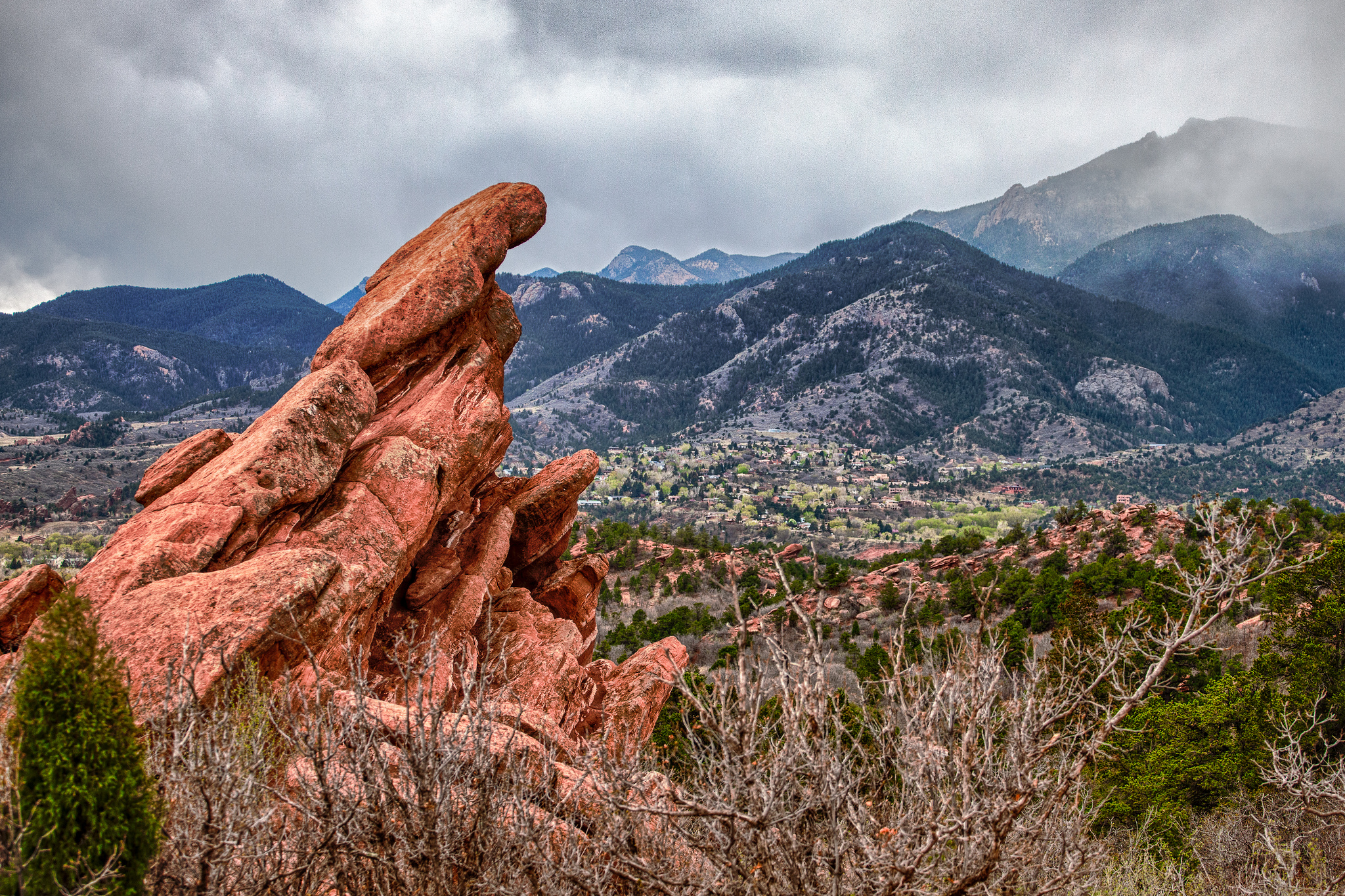 Garden of the gods geological feature in colorado thousand wonders for Quality inn garden of the gods