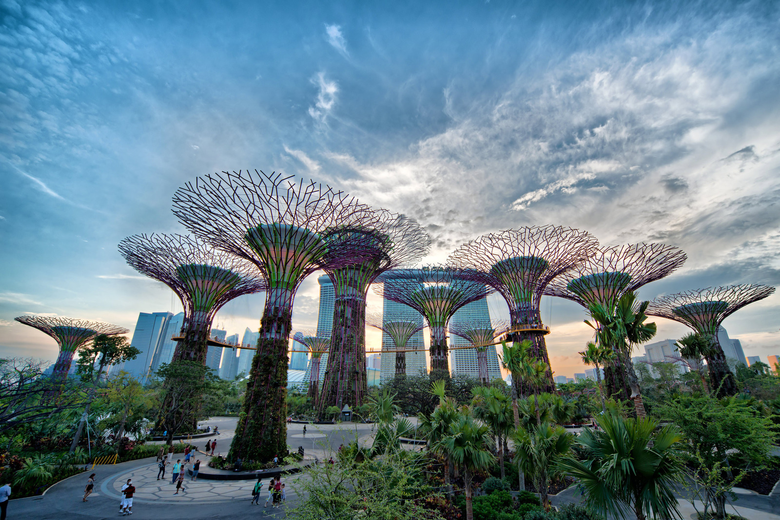 Gardens By The Bay Urban Park In Singapore Thousand