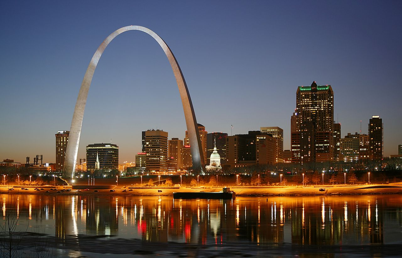 Gateway arch in st louis thousand wonders for St louis architecture