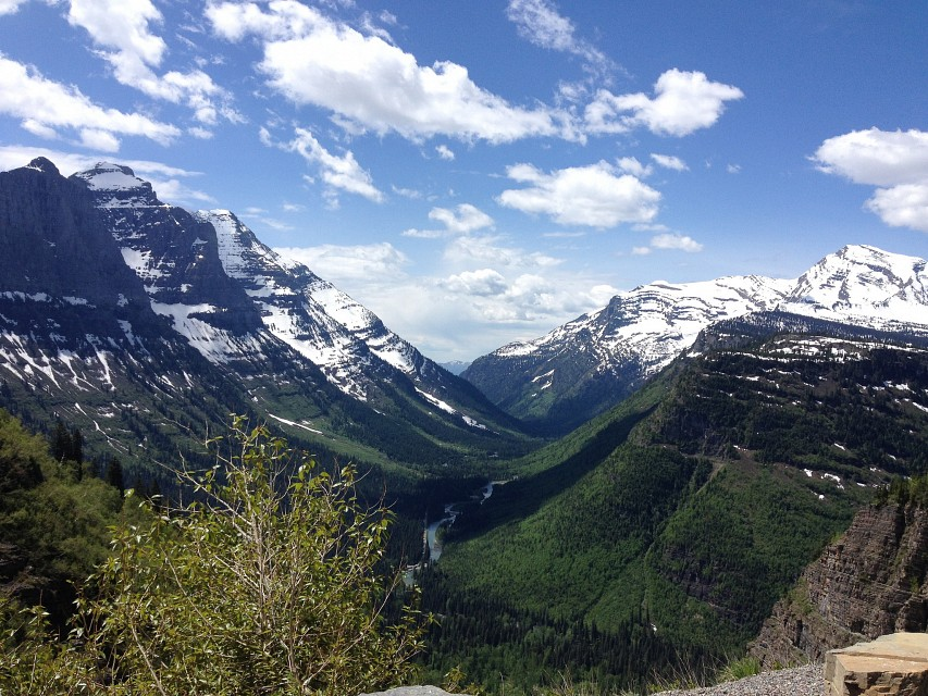 """Cycling the """"Going To The Sun Road"""" in Glacier National Park - Glacier National Park"""