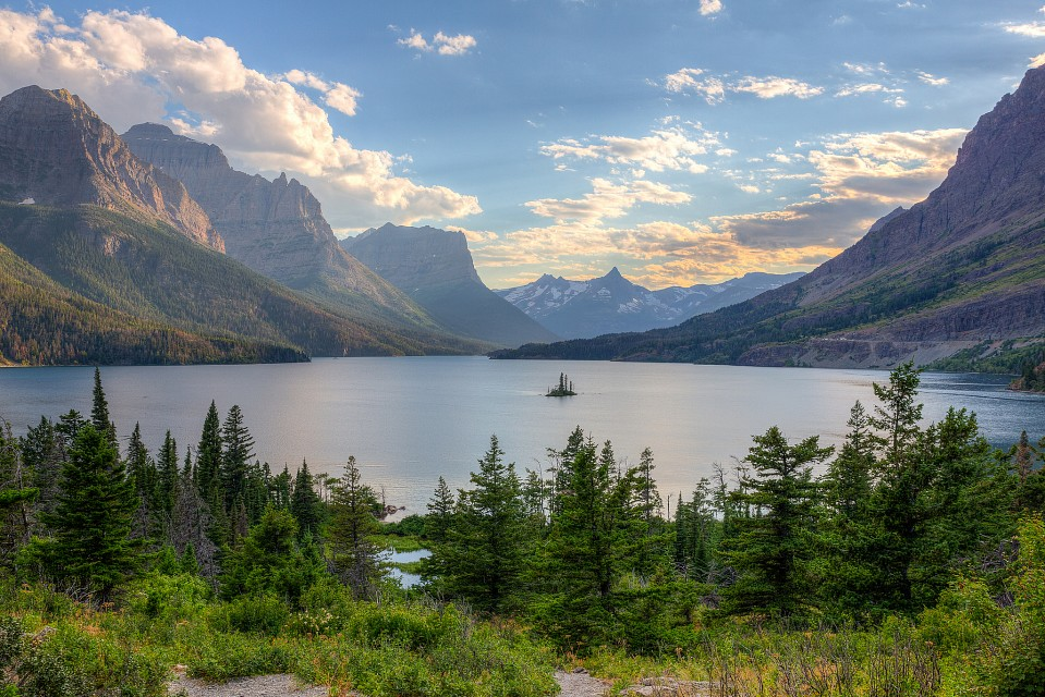 Glacier - St. Mary Lake - Glacier National Park