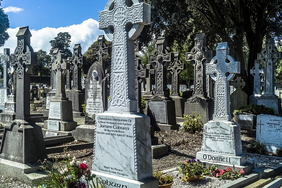 Glasnevin Cemetery, officially known as Prospect Cemetery - Glasnevin Cemetery