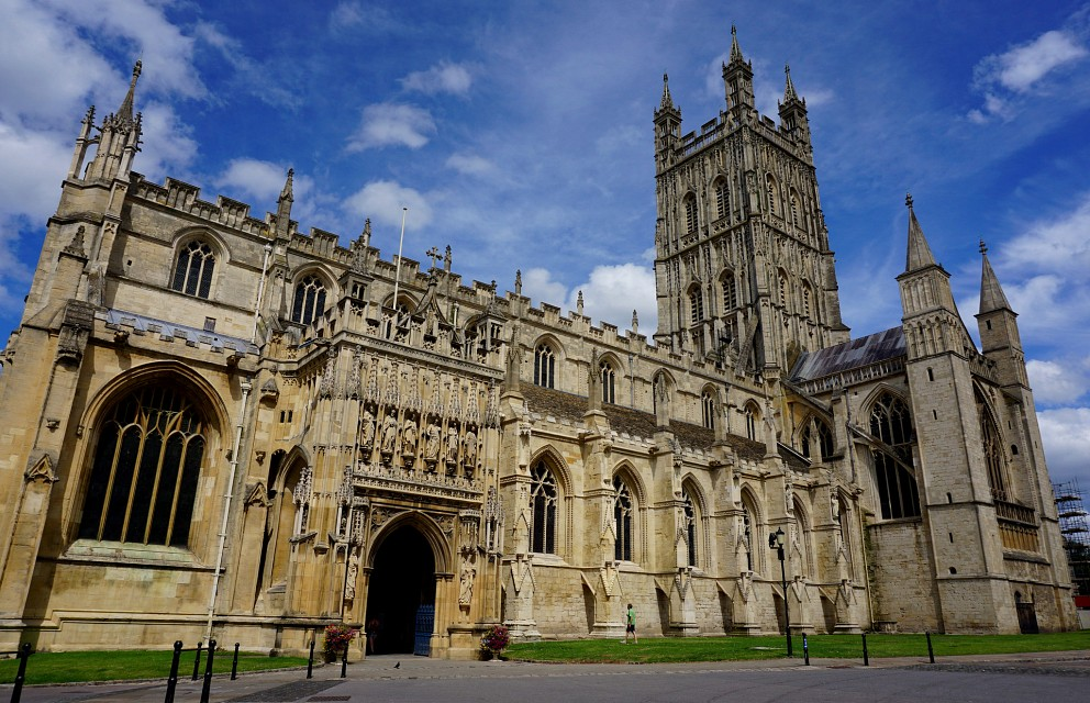 Gloucester Cathedral exterior - Gloucester Cathedral